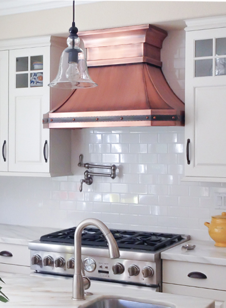 Art of Range Hoods Custom Estella Range Hood