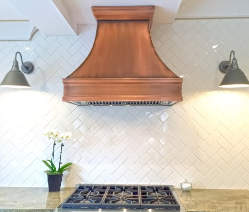 Art of Range Hoods Copper Range Hoods