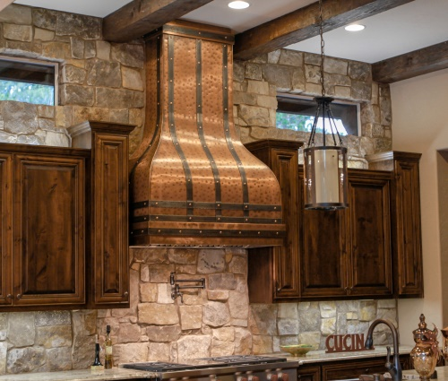 Art of Range Hoods Camellia Style Kitchen Hoods