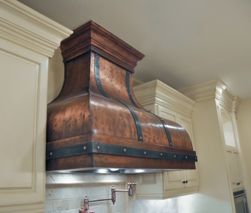 Art of Range Hoods Bettina Copper Range Hood
