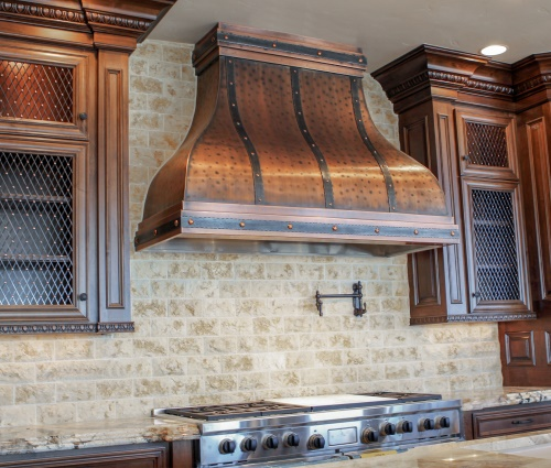 Art Of Range Hoods Custom Camellia Kitchen Range Hood