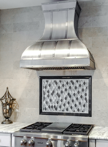 Art of Range Hoods Custom Kitchen Carolina Range Hood
