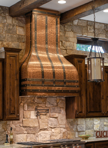 Art of Range Hoods Tall Camellia Range Hood